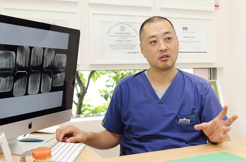 口腔外科が専門の医師が治療